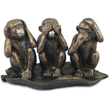 Maison & Déco Statuettes et figurines Signes Grimalt Chiffre Dorado