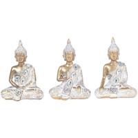 Maison & Déco Statuettes et figurines Signes Grimalt Ensemble Différent De Bouddha 3 3U Blanco
