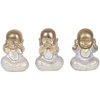 Maison & Déco Statuettes et figurines Signes Grimalt Bouddha Ensemble De 3 Unités Dorado