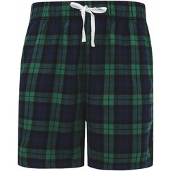 Vêtements Homme Shorts / Bermudas Skinni Fit SFM82 Bleu marine/vert