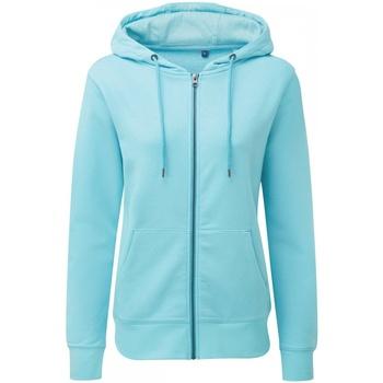 Vêtements Femme Sweats Asquith & Fox AQ081 Bleu ciel