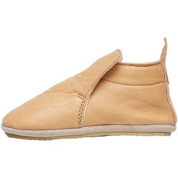 Chaussures Enfant Chaussons bébés Naturino PLUMARD-chaussures de parc en cuir nappa beige