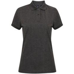 Vêtements Femme Polos manches courtes Asquith & Fox AQ025 Gris foncé