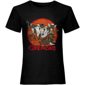 Vêtements Femme T-shirts manches courtes Gremlins  Noir