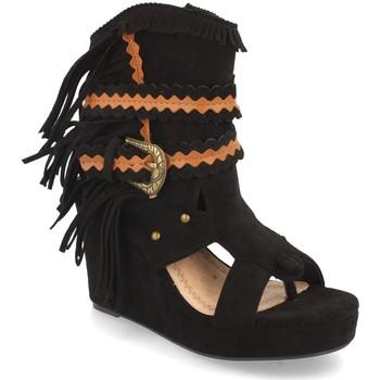 Chaussures Femme Bottines H&d YZ19-239 Negro