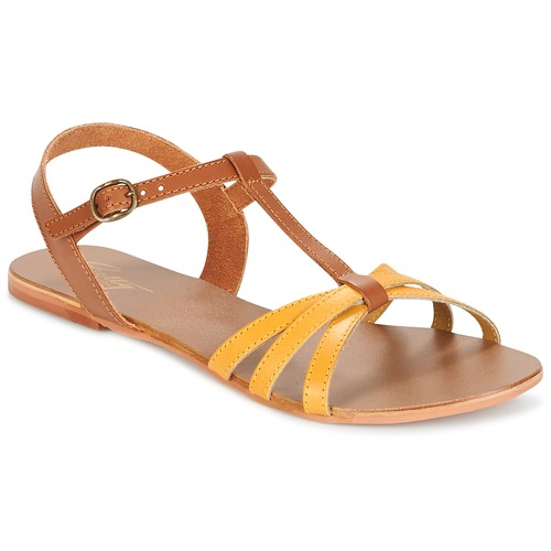 Sandale Betty London IXADOL Jaune / Camel 350x350