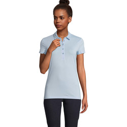 Vêtements Femme Polos manches courtes Sols OSCAR WOME Azul claro