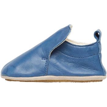 Chaussures Garçon Chaussons bébés Naturino PLUMARD-chaussures de parc en cuir nappa marine