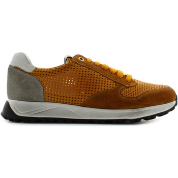 Chaussures Homme Baskets basses Exton 751 Ocra
