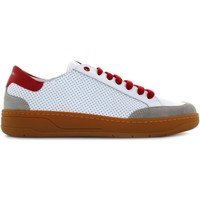 Chaussures Homme Baskets basses Exton 862 Bianco / rosso