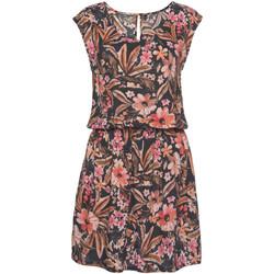Vêtements Femme Robes courtes Lascana Robe estivale manches courtes Flower Imprimé