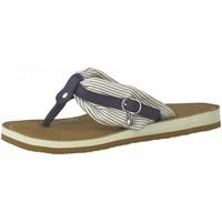 Chaussures Femme Tongs Tamaris 27109 Bleu