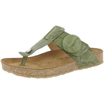Chaussures Femme Tongs Haflinger CW997 B VERT