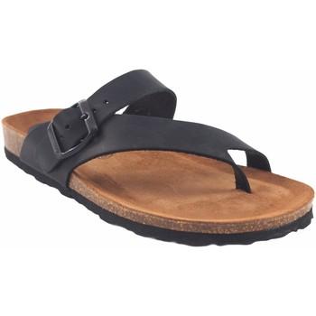 Chaussures Femme Tongs Interbios Sandale femme  7119 noir Noir