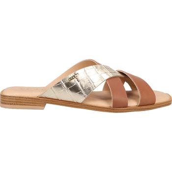 Chaussures Femme Sabots Scapa Mules Cognac