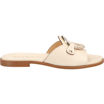 Chaussures Femme Sabots Scapa Mules Beige