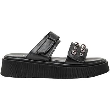 Chaussures Femme Sabots Inuovo Pantoletten Noir