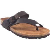 Chaussures Femme Tongs Interbios Sandale femme  7119 marron Marron