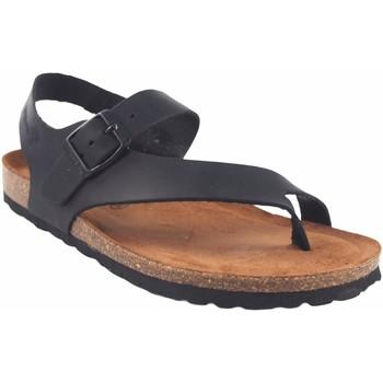 Chaussures Femme Tongs Interbios Sandale femme  7162 noir Noir