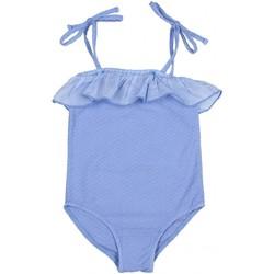 Vêtements Fille Maillots de bain 1 pièce Buho Maillot de bain 1 pièce jacquard VINTAGE Bleu