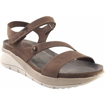 Chaussures Femme Sandales et Nu-pieds Interbios Sandale femme  6901 taupe Marron