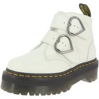 Chaussures Femme Bottines Dr Martens DEVON HEART BLANC