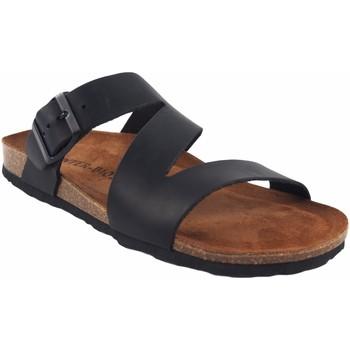 Chaussures Homme Mules Interbios Sandale homme  9553 noir Noir