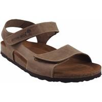 Chaussures Homme Sandales et Nu-pieds Interbios Sandale homme Marron
