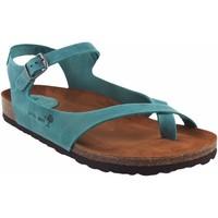 Chaussures Femme Sandales et Nu-pieds Interbios Sandale femme  7164 denim Bleu