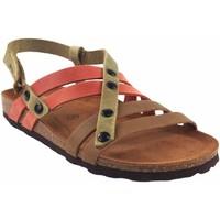 Chaussures Femme Sandales et Nu-pieds Interbios Sandale femme  7200 divers Rouge