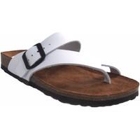 Chaussures Femme Tongs Interbios Sandale femme  7119 blanc Blanc