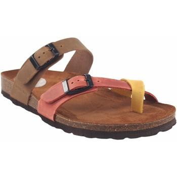 Chaussures Femme Sandales et Nu-pieds Interbios Sandale femme  7212 divers Jaune