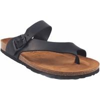 Chaussures Homme Sandales et Nu-pieds Interbios Sandale homme  9511 noir Noir