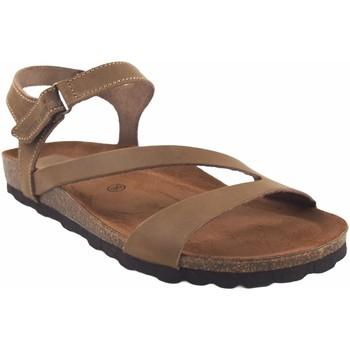 Chaussures Femme Sandales et Nu-pieds Interbios 7219 beige Marron