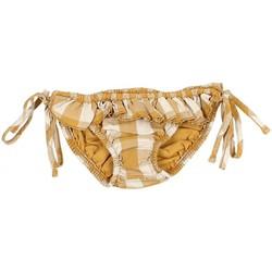 Vêtements Fille Maillots de bain séparables Buho Culotte de bain Vichy LOUISE Marron
