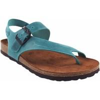 Chaussures Femme Tongs Interbios Sandale femme  7162 denim Bleu