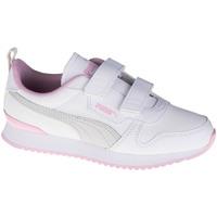 Chaussures Enfant Baskets basses Puma R78 SL V PS Blanc