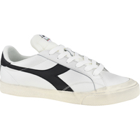 Chaussures Homme Baskets basses Diadora Melody Leather Dirty Blanc