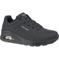 Chaussures Femme Baskets basses Skechers Uno-Stand on Air Noir