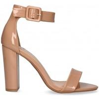 Chaussures Femme Sandales et Nu-pieds Etika 53405 Beige