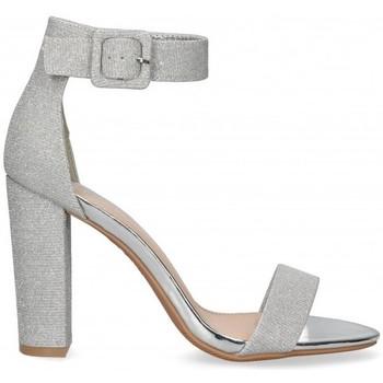 Chaussures Femme Sandales et Nu-pieds Etika 53404 Argenté