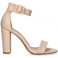 Chaussures Femme Sandales et Nu-pieds Etika 53407 Marron