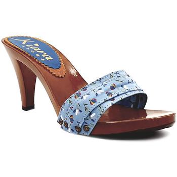 Chaussures Femme Mules Kiara Shoes K6701 Bleu Clair