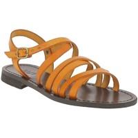 Chaussures Femme Sandales et Nu-pieds Iota 539 ORANGE