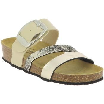 Chaussures Femme Mules La Maison De L'espadrille M3535 BEIGE