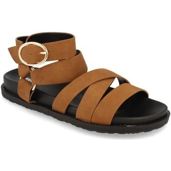 Chaussures Femme Sandales et Nu-pieds Buonarotti 1AF-1135 Camel