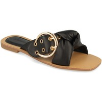 Chaussures Femme Mules Buonarotti 1HA-1139 Negro