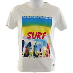 Vêtements Homme T-shirts manches courtes Jack & Jones JJOR Beach T-shirt