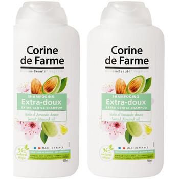 Beauté Soins cheveux Corine De Farme Lot de 2 Shampooings Extra-Doux à l'Huile d'Amande Autres