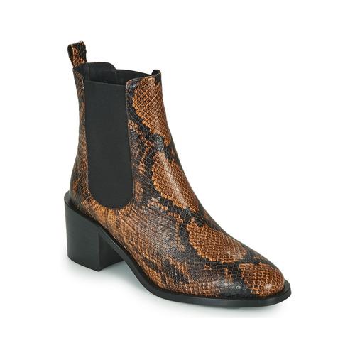 Chaussures Femme Bottines JB Martin ADELE Marron